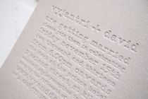 Maytide Ethical Wedding Stationery - Typography Invitation